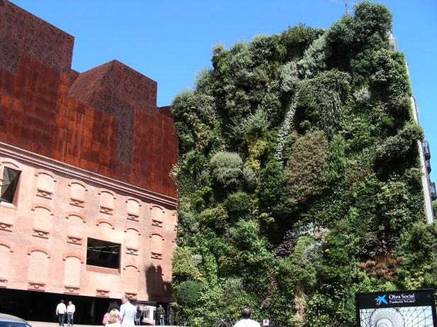 Mur Végétal Caixa Forum Madrid