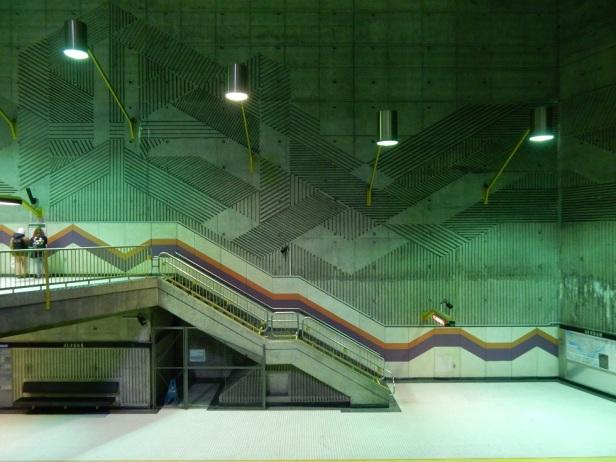 Architecture Brutalisme Montréal Station Verdun