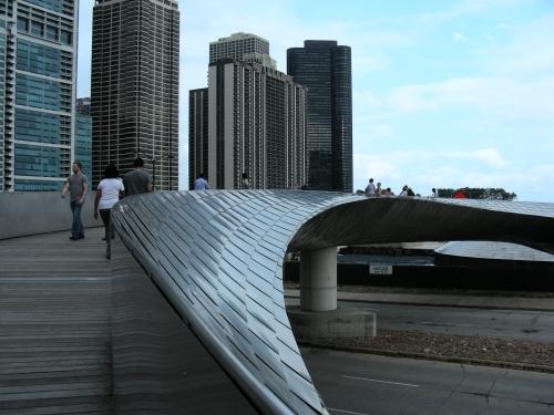 La Passerelle BP, à Chicago