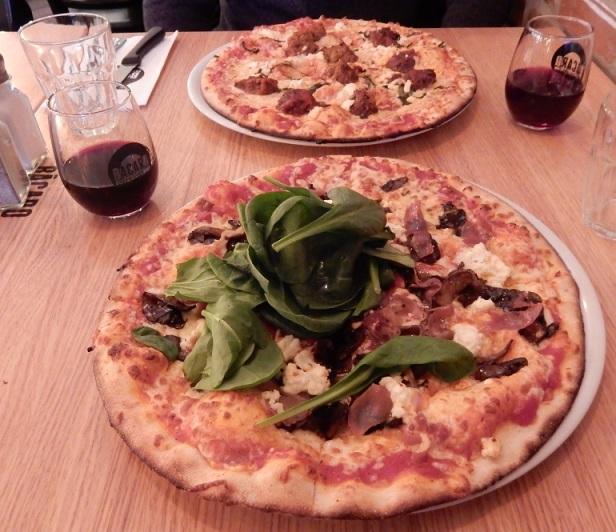 Resto Bacaro pizza