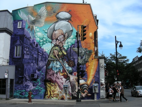 Murale St-Laurent/Des Pins