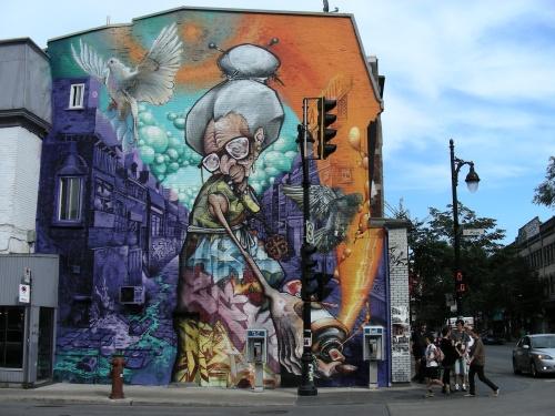 Murale St-Laurent/Des Pins