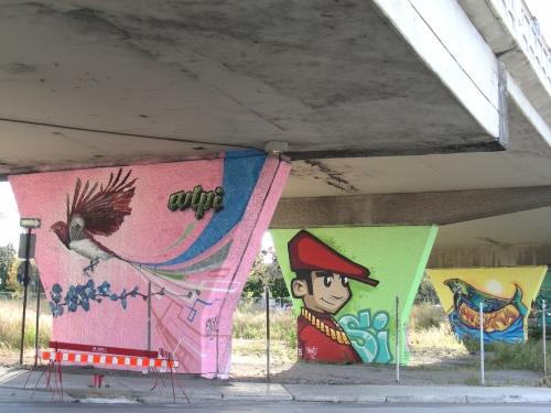 Montréal Sous le viaduc Van Horne 1