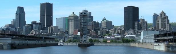 Montréal vue du fleuve
