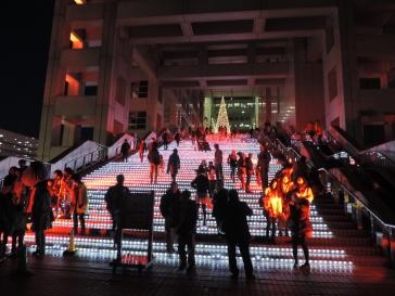 Escalier Fuji TV Tokyo