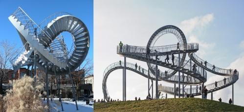 Escalier de Montréal et de Duibourg