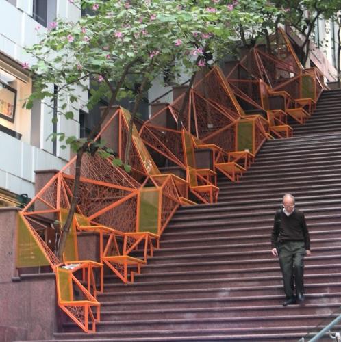 Escalier The Cascade Hong Kong
