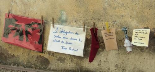 Strasbourg Corde-a-poèmes