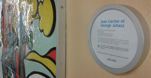 Capsules d'art dans le métro