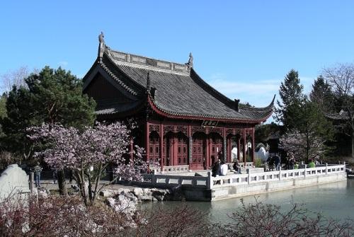 Jardin Chinois du Jardin botanique de Montréal