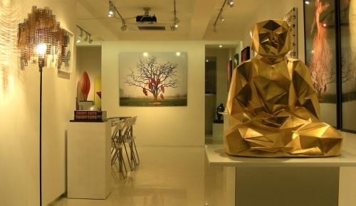 Exemple d'art contemporain chinois (Galerie de Hong Kong, en 2014)