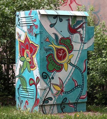 Camouflage urbain sur Laurier près de St-Laurent