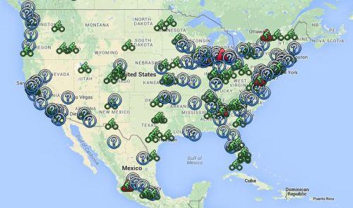 Le vélo-partage en Amérique du Nord