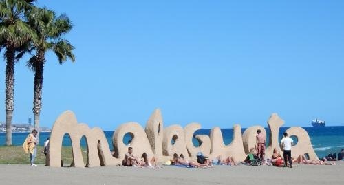 Plage de Malagueta, Malaga