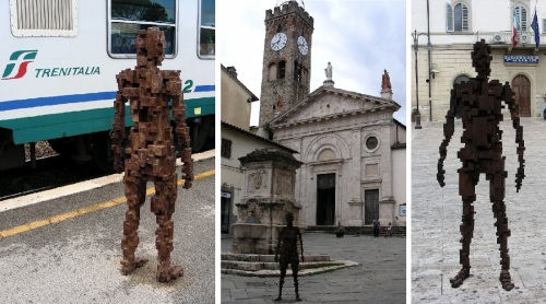 Antony Gormley Poggibonsi