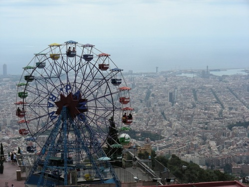 8 Tibidabo Barcelone