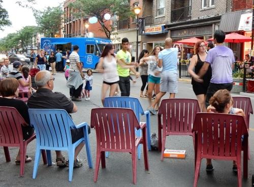 Danse sur Wellington Montréal