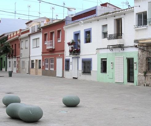 Banc public Denia Espagne