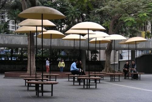 Banc public Hong Kong