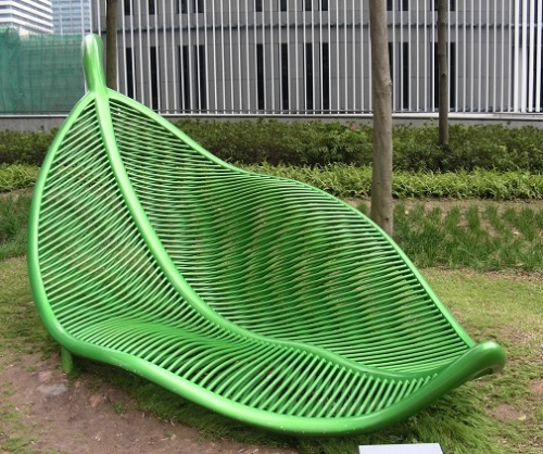 Banc public HongKong Photosynthesis in Motion