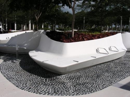 Banc public Miami Perez Art Museum