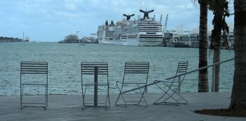 Chaises publiques Miami