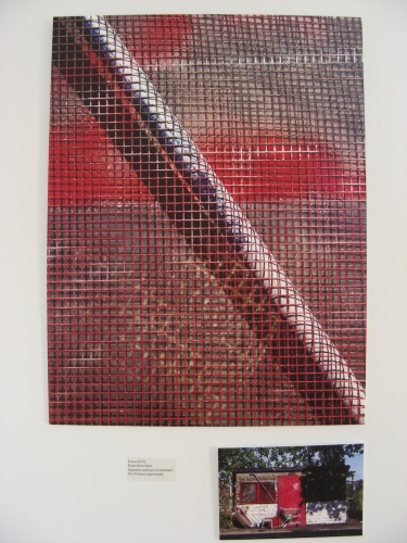 Centre Culturel George-Vanier, 2015, oeuvre intitulée Évasion