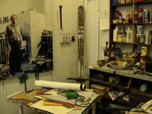 Fondation Guido Molinari, l'atelier de l'artiste
