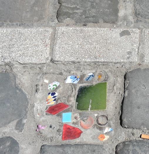 1 c Trottoir Bruxelles et art