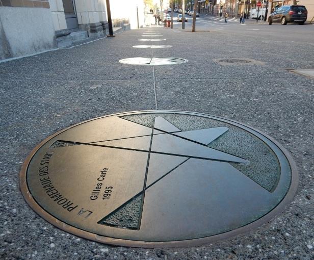 5 Trottoirs Montréal Promenade des Stars