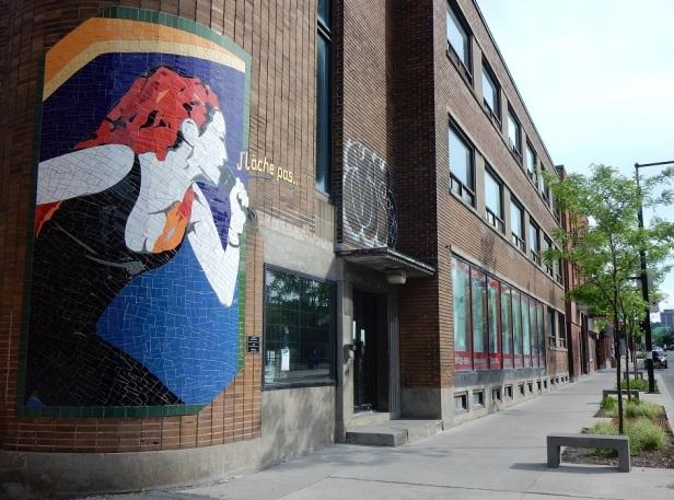 Mosaïque de la rue Ontario Marjo
