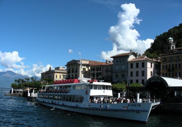 Bateau Bellagio Lacs Italiens