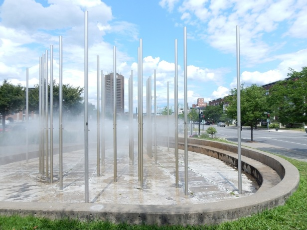 Montréal Fontaine de Peter Gnass
