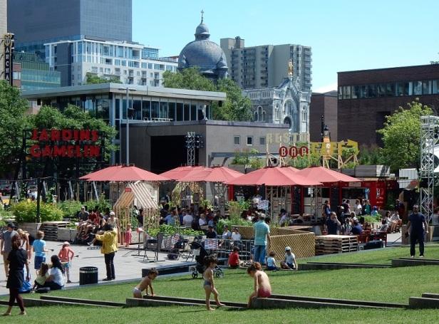 Montréal Parc Émilie Gamelin