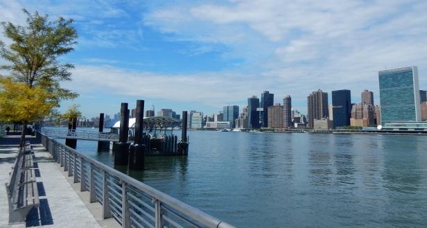 New York station de bateau taxi