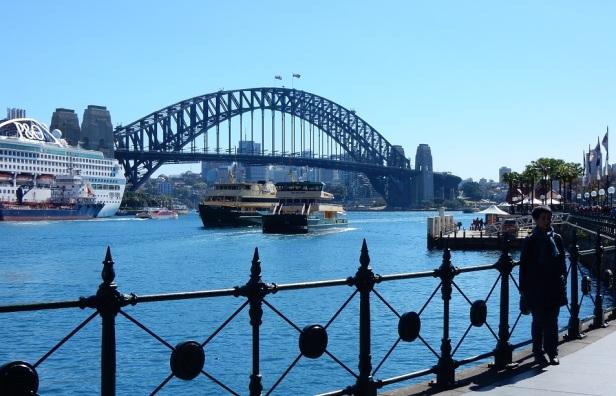 Pont de Sydney et bateaux