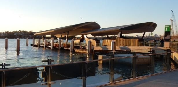 Sydney quais des bateaux-taxis