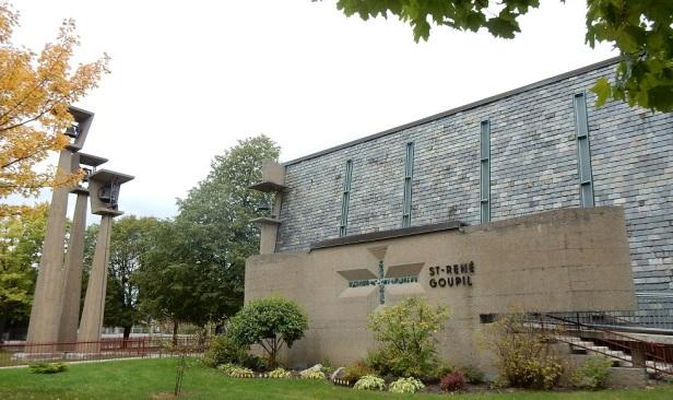 Église Saint-René-Goupil Montréal Roger D'Astous (1)