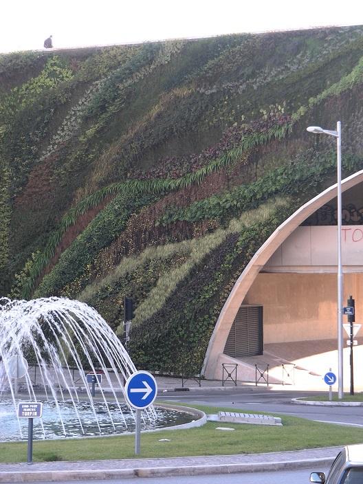 Aix Mur végétal