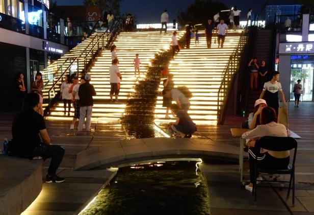 Beijing escalier Éclairage Lampadaire