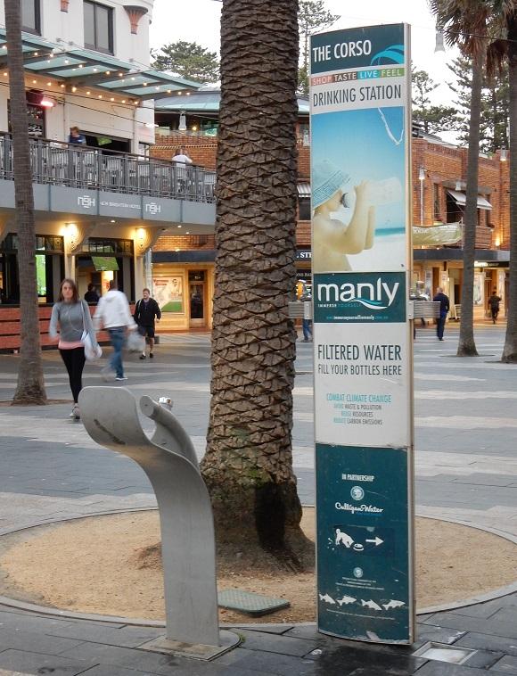 fontaine à boire Sydney (2)