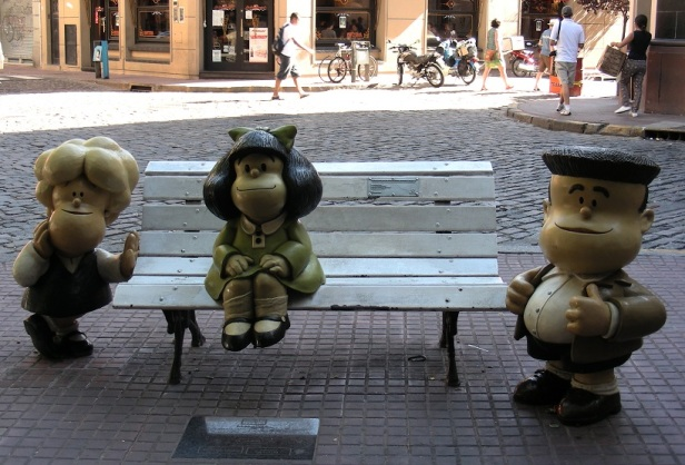 Banc sculpture Buenos Aires