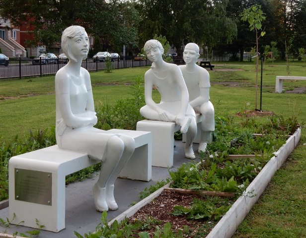 Banc sculpture Montréal LaSalle (1)