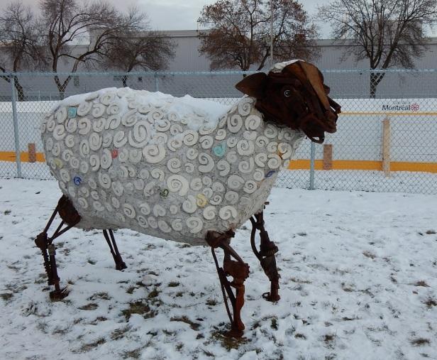 Nayan Mosaïque Mouton perdu