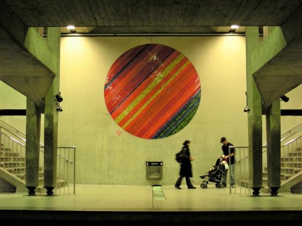 Béton Montréal Station Peel