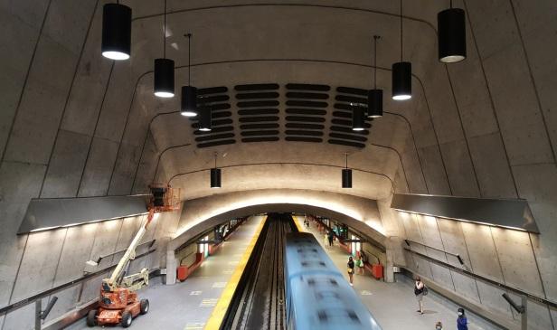Béton Montréal Station Radisson