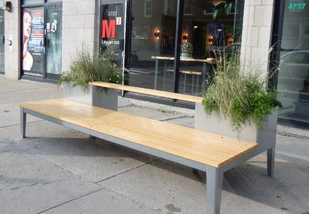 0 Banc public Montréal St-Denis