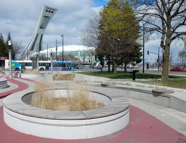 1 Banc public Montréal Parc Guido-Nincheri