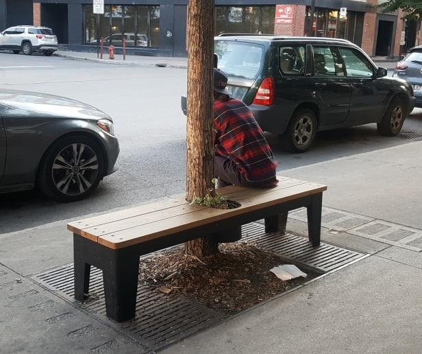 2 Banc public Montréal St-Laurent