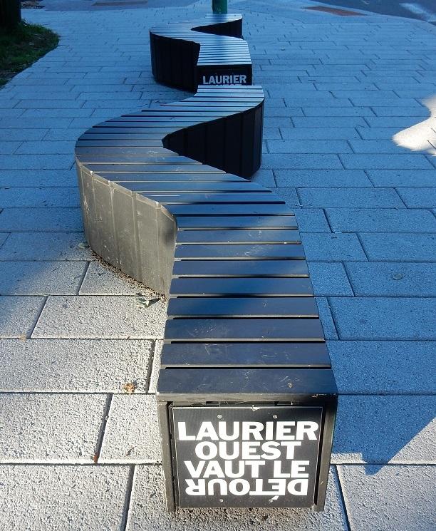 3 Banc public Montréal Laurier Ouest